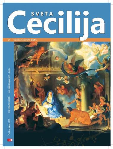 Sveta Cecilija, Godina 87, broj 3-4, (2017)